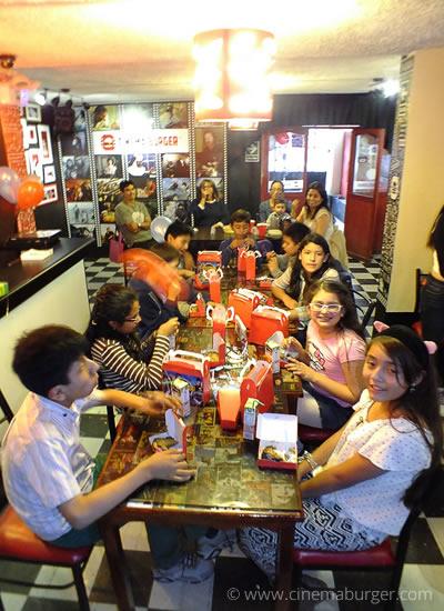 Fiesta de Cumpleaños - Cinema Burger®