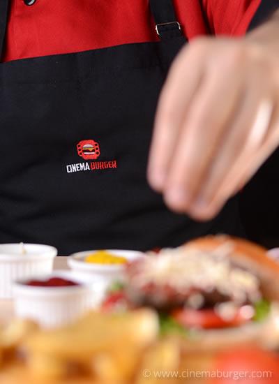 Chef hamburguesero - Cinema Burger®