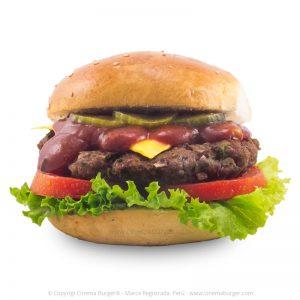 Hamburguesa American Psycho - Cinema Burger