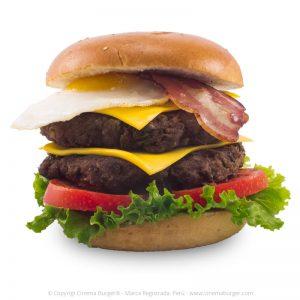 Hamburguesa Jurassic Park - Cinema Burger