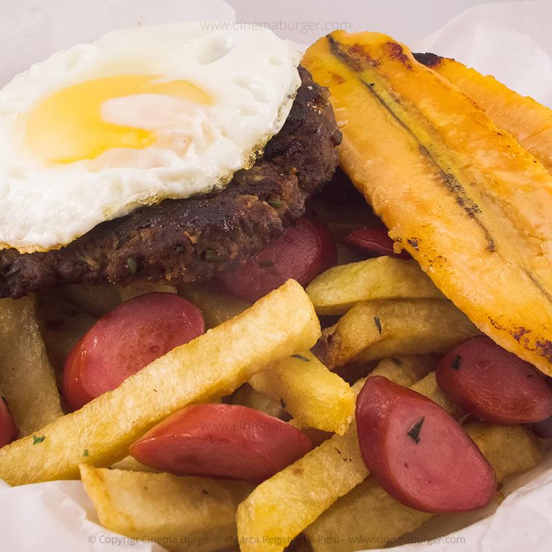 Salchipapa King Kong - Cinema Burger®