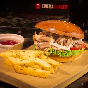 Brasa sándwich - Cinema Burger®