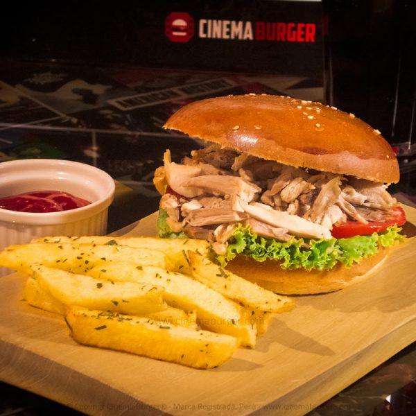 Brasa sándwich - Cinema Burger®