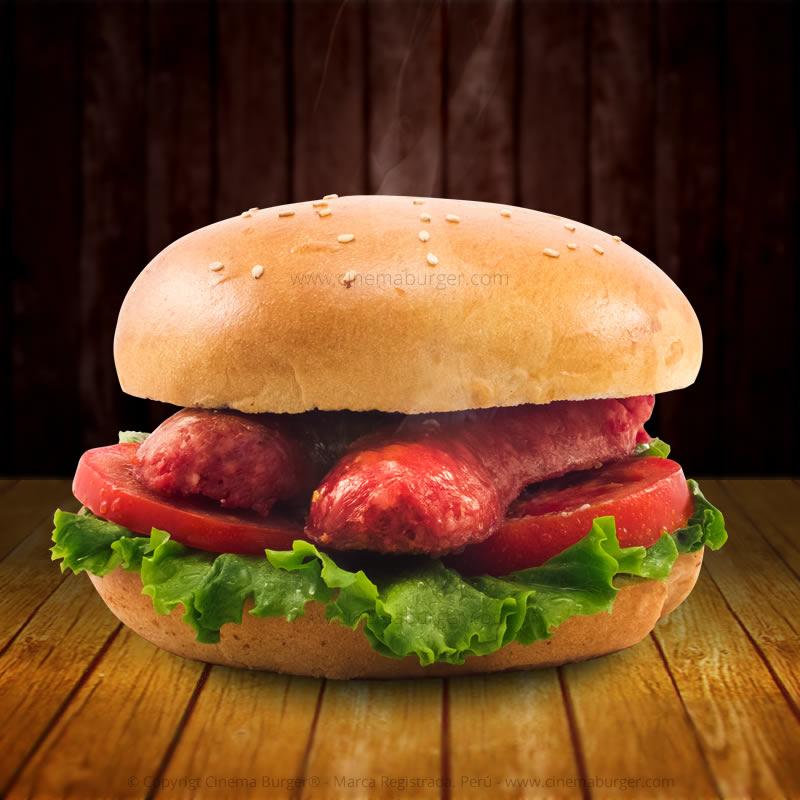 Sándwich Choripan - Cinema Burger®