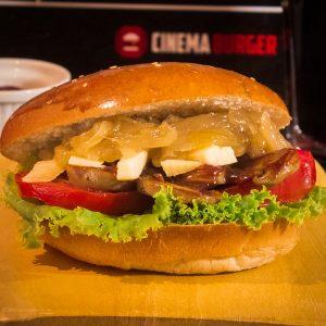 Sándwich Dulce Veggie BBQ - Cinema Burger®
