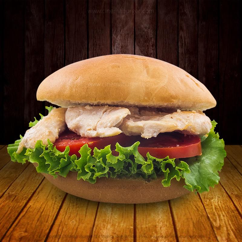 Sándwich Pollo a la plancha - Cinema Burger®