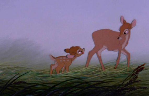 Mamá de bambi - Bambi (1942)