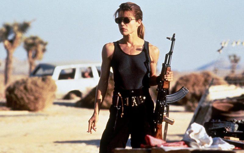 Sarah Connor - Terminator 1 (1984) y 2 (1991)