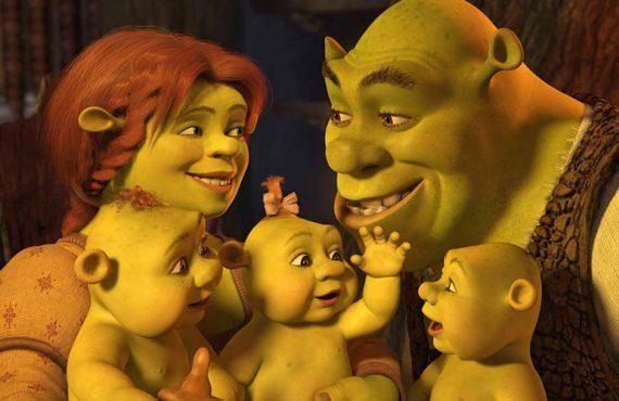 Fiona - Shrek Tercero (2007) y Shrek Felices para siempre (2010)