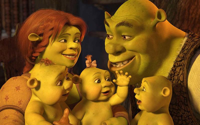 Shrek Tercero (2007) y Shrek Felices para siempre (2010)