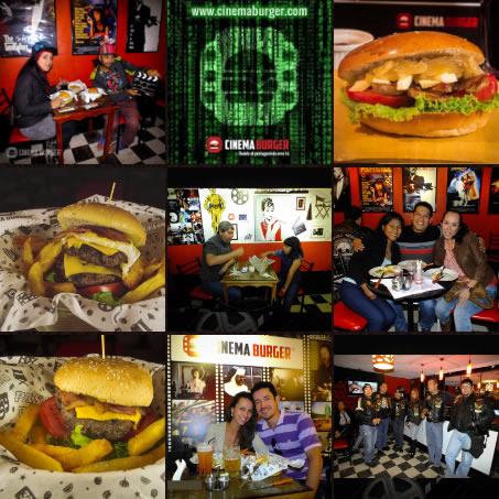 Cinema Burger® - Es una marca registrada en Perú - 2015.