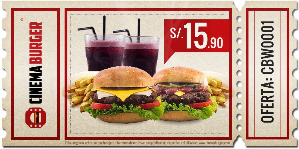 Oferta CBW001 - Cinema Burger®