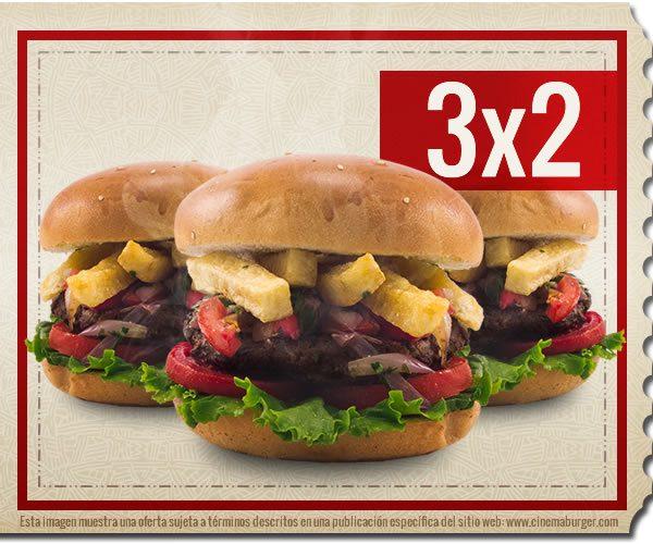 Oferta CBW002 - Cinema Burger®