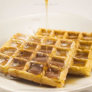 Postre Waffles - Cinema Burger®