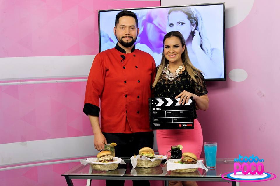 Cinema Burger en De Todo un Poco por Panamericana Televisión