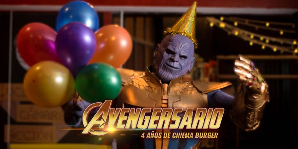 Portada Avengersario Cinema Burger