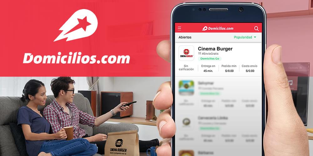 Cinema Burger en Domicilios.com